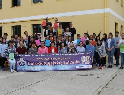 Seminar Kombëtar për të rinj – 25 – 28 maj 2017